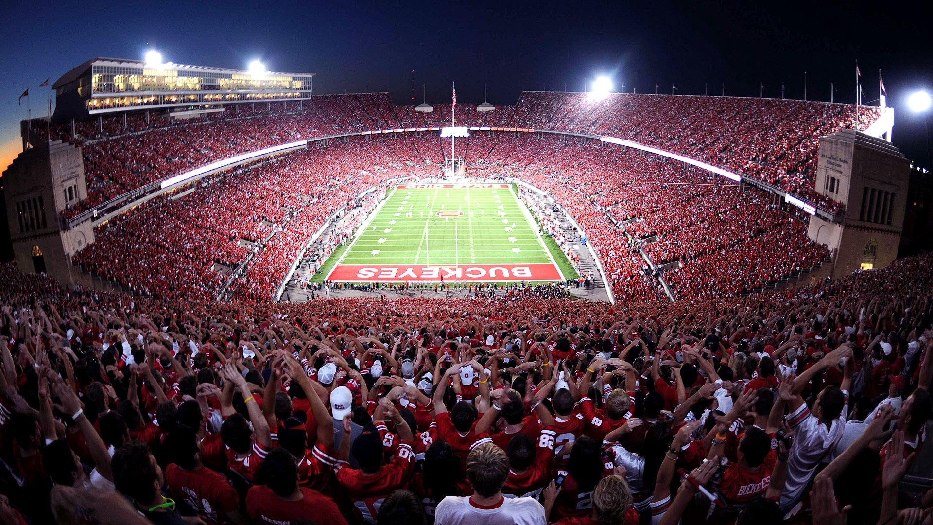 Pictures Of College Football Stadiums Google Search Ohio State Buckeyes Football Ohio State Buckeyes Ohio State Football