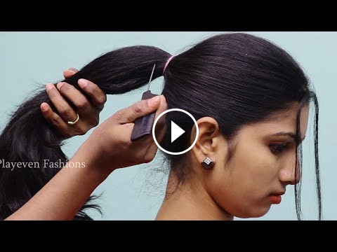 New Simple Hairstyle For Party Hair Style Girl Hairstyle For