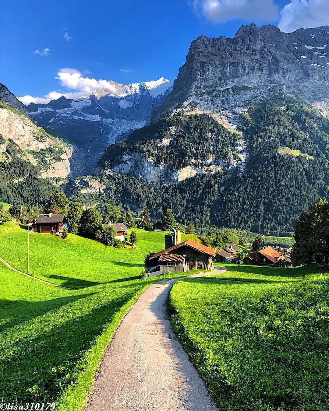 Grindelwald Switzerland Amazing Places On Earth Beautiful Places On Earth Beautiful Landscapes