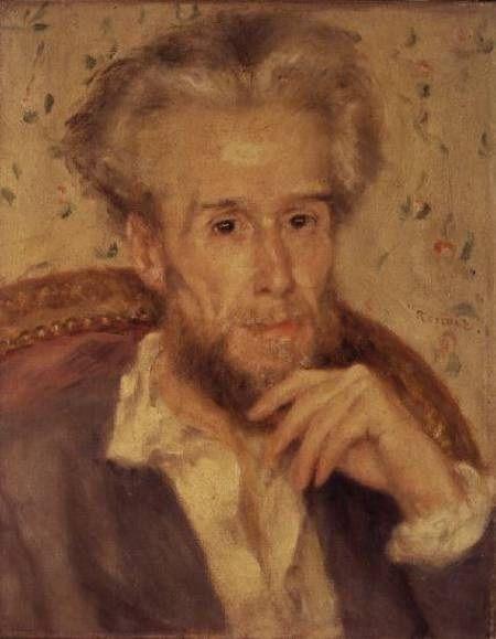 Victor Choquet par Auguste Renoir