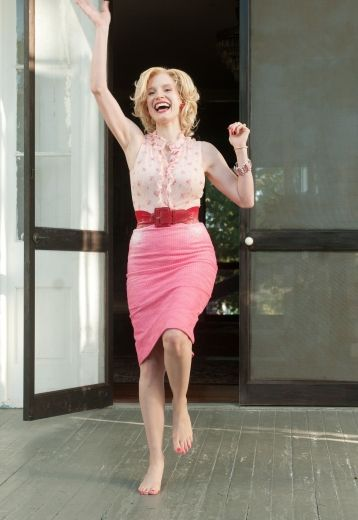Jessica Chastain in The Help.