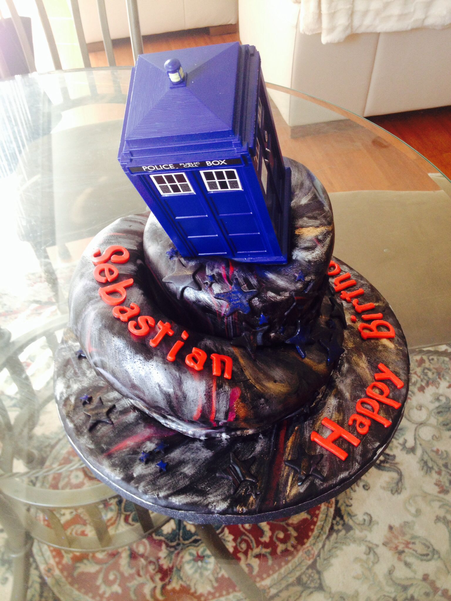 Dr Who Birthday Cake Michelles Cakes Pinterest Birthday