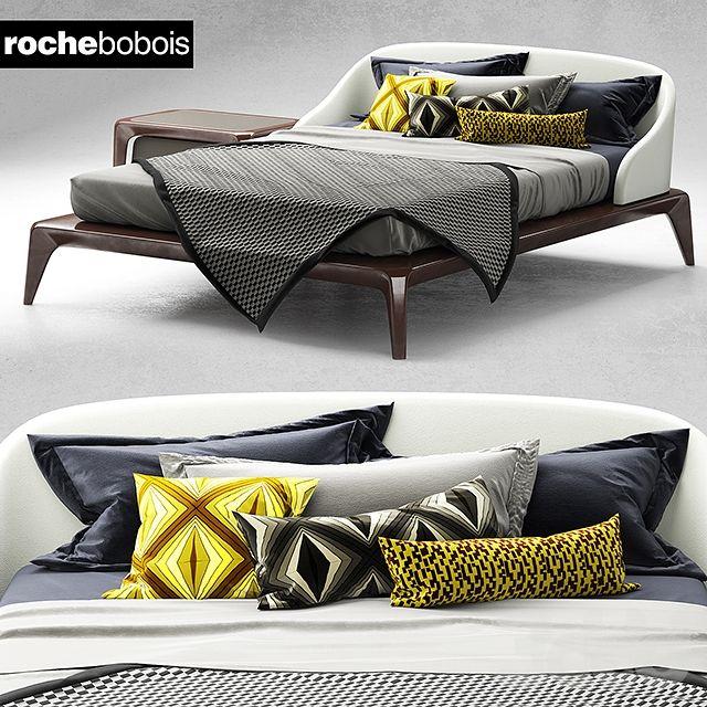 Кровать Roche Bobois BRIO bed | BEDS | Camera da letto e Arredamento