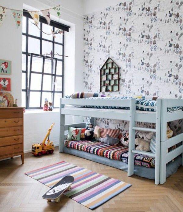 30 Ideas For Children's Room Design Quartos, Quarto de
