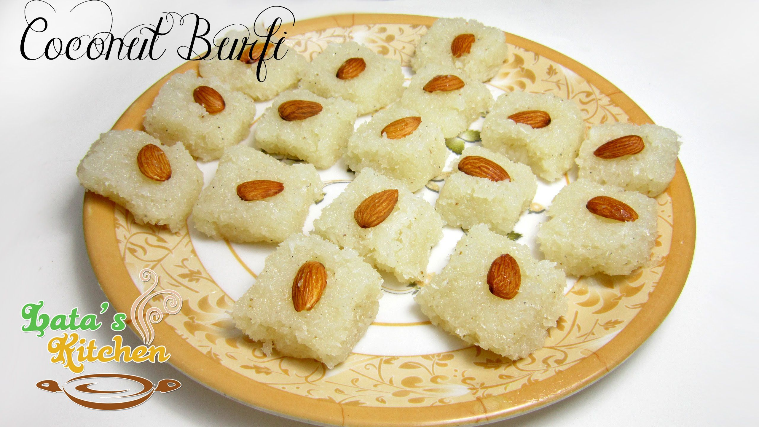 Coconut burfi recipe without khoa indian vegetarian dessert recipe coconut burfi recipe without khoa indian vegetarian dessert recipe in hindi with english subtitles forumfinder Image collections