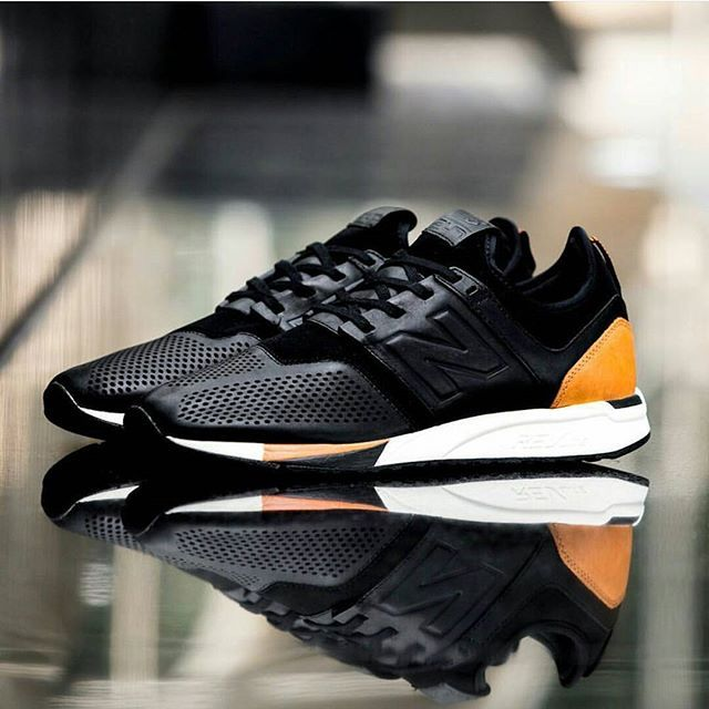 new balance 247 luxe black