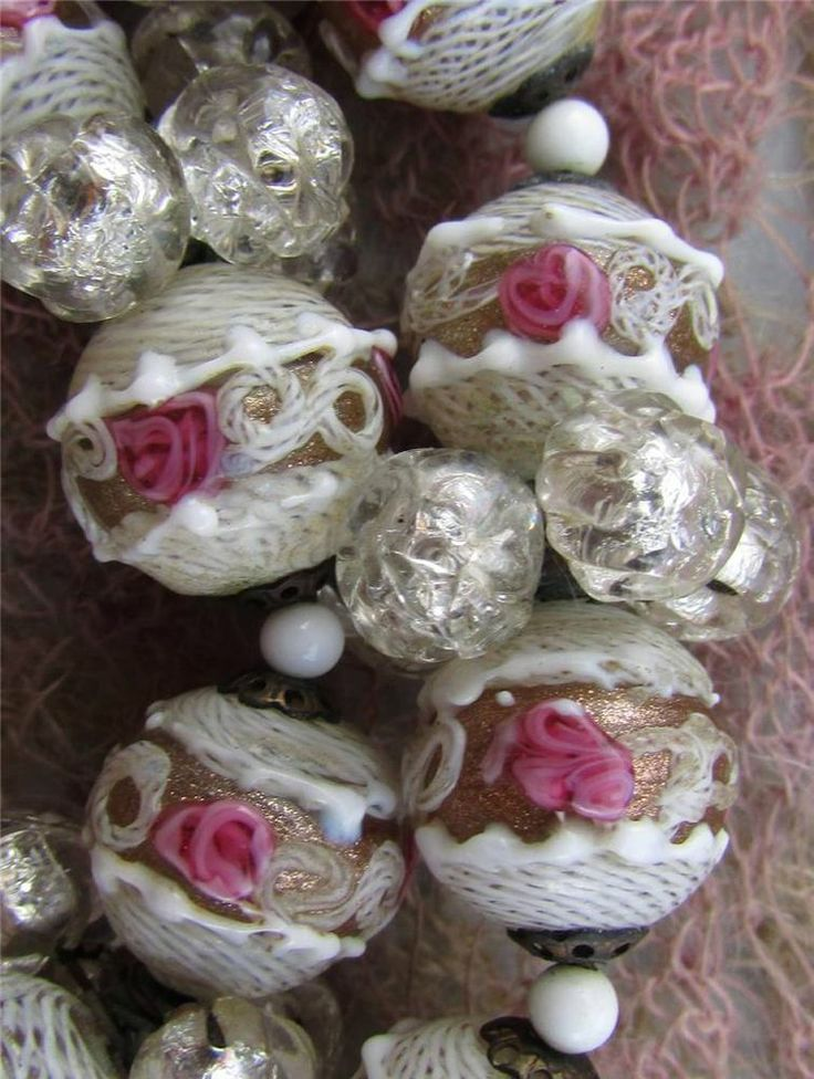 Vintage Venetian Glass Beads Etsy.com - Yahoo Image Search Results