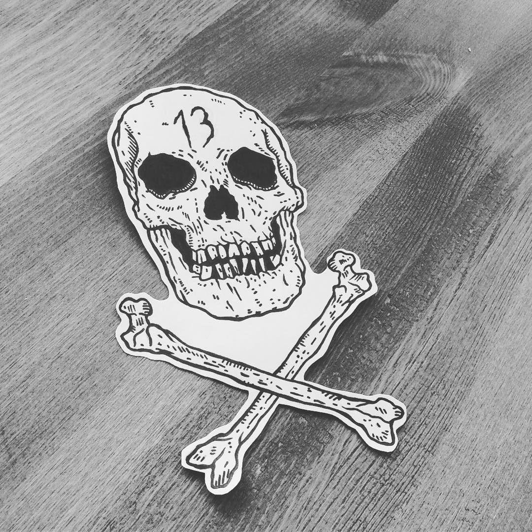 #drawing #draw #illustration #illustrator #linework #print #paper #sketch #flashtattoo #tattoo #ink #halloween #skull #blackwork #black #darkartists #hydeomega #blackandwhite