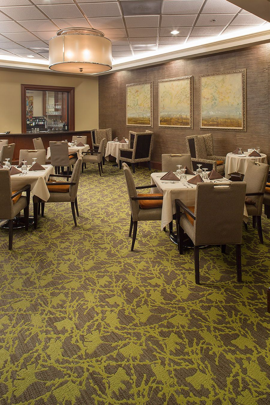 Foreign Flora, Lees Commercial Broadloom Carpet Mohawk