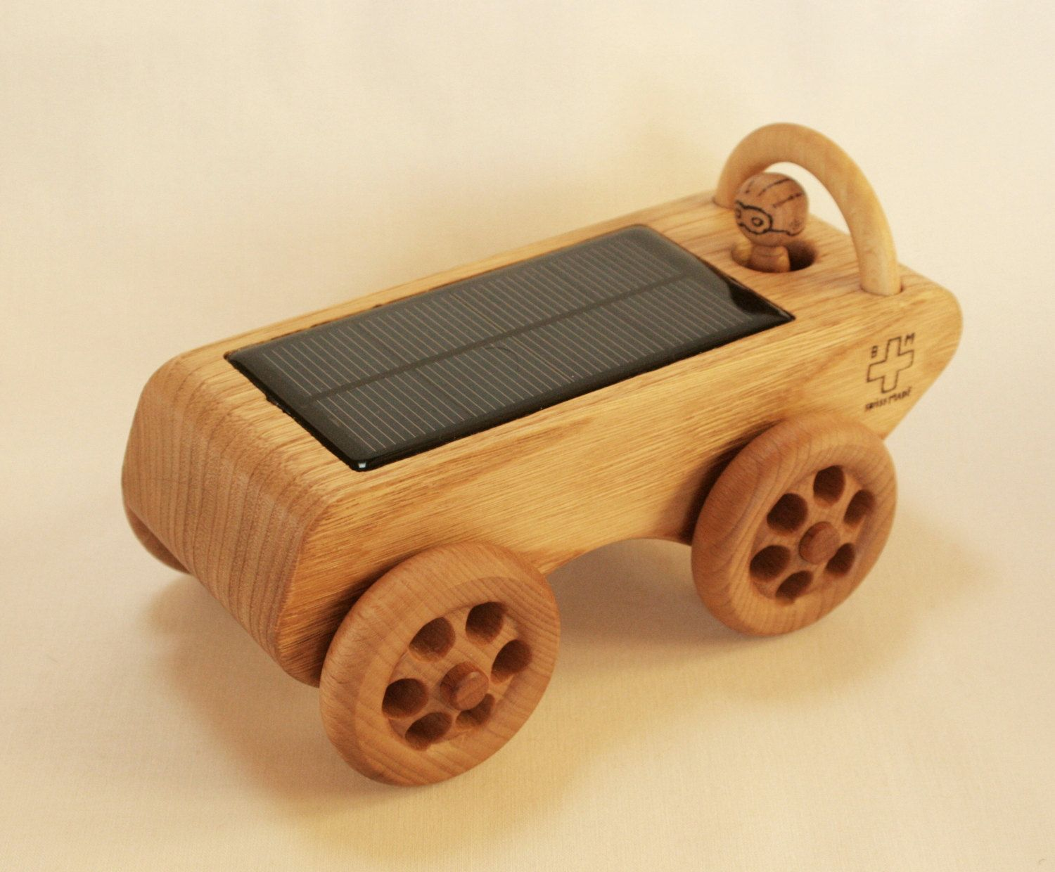 Toys beautiful and affordable all wood play kitchen sets inhabitots - Wooden Toy Car Solar Powered Eco Friendly A Solar Car That Drives