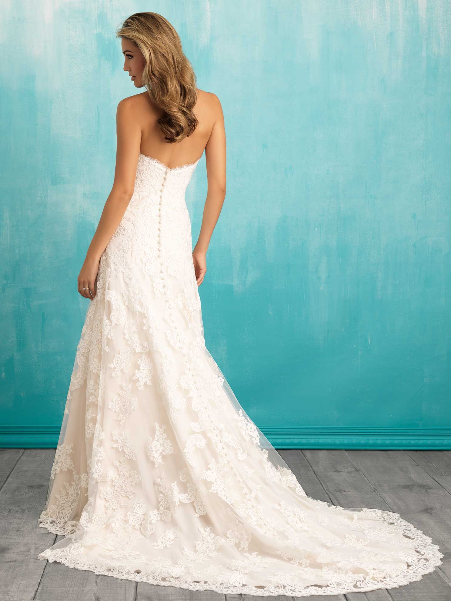 Allure Bridals | Allure 9309 | Available at LuLu\'s Bridal Boutique ...