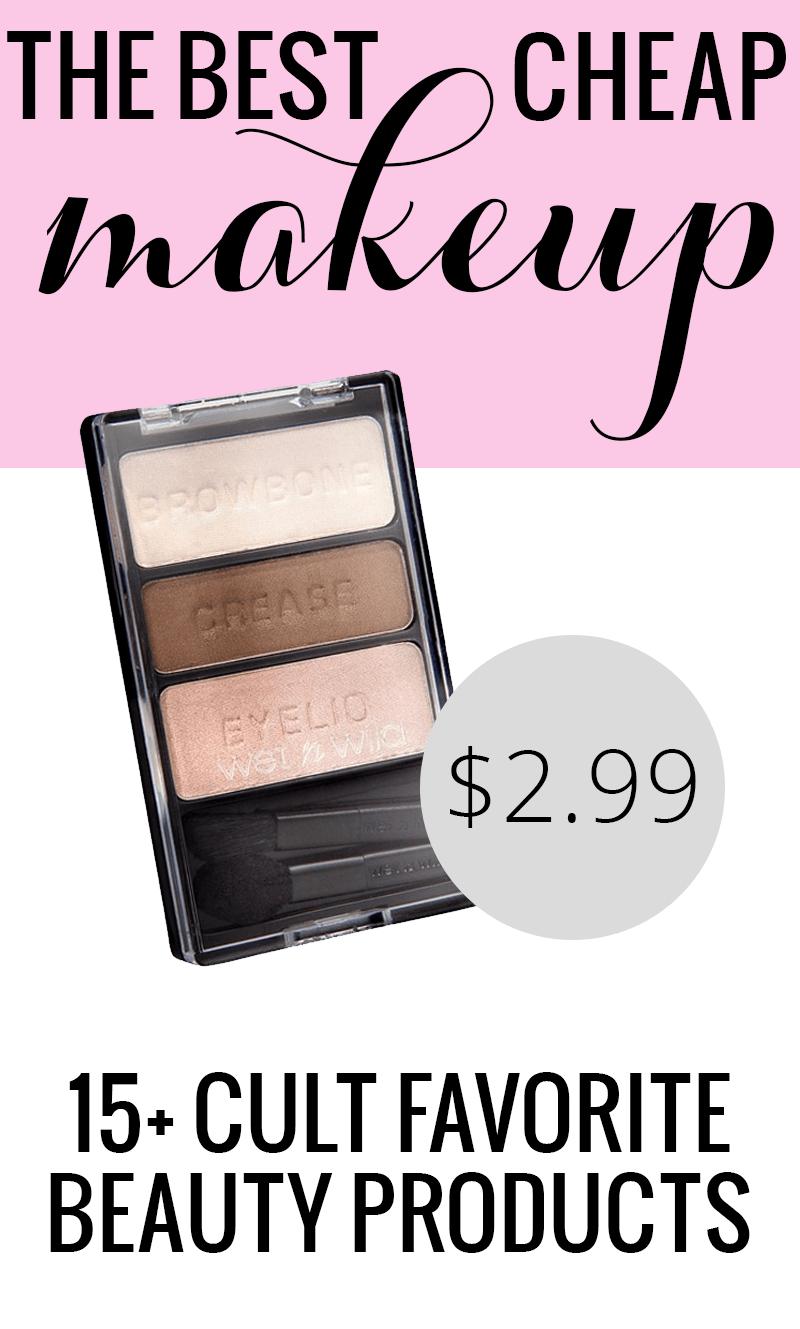 The Best Cheap Makeup Best cheap makeup, Cheap makeup