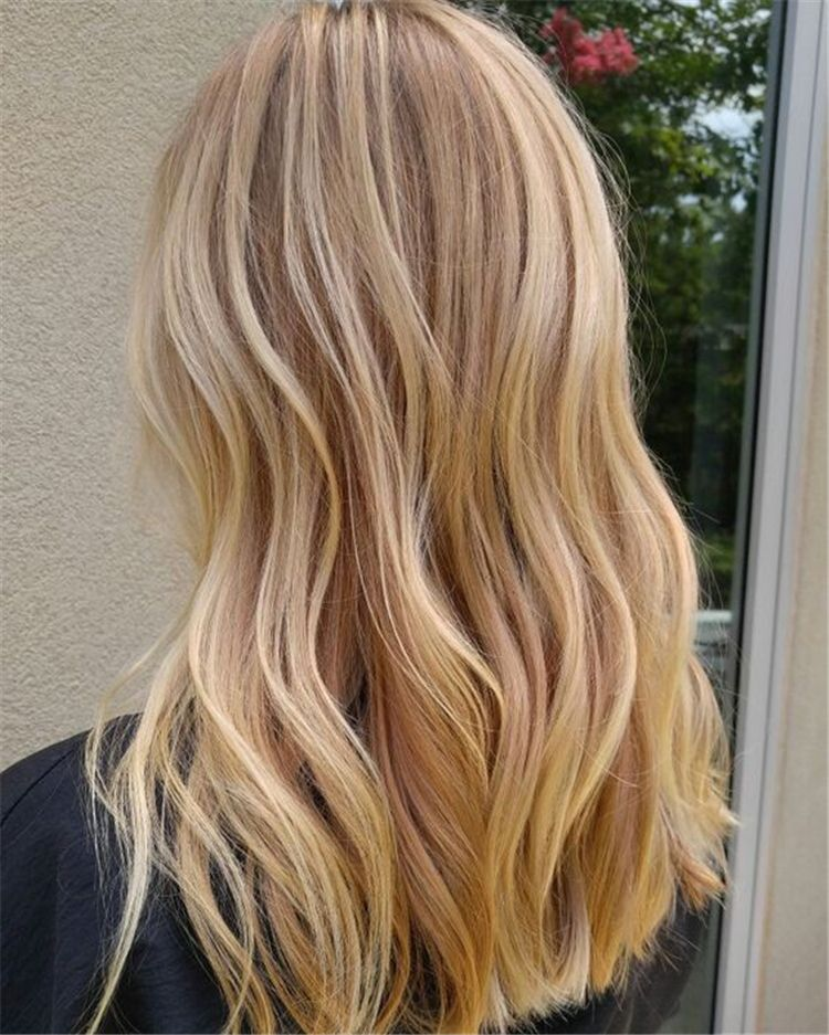 40 Stunning Balayage Hair Color Ideas For Your Inspiration Page 36 Of 40 Chic Hostess Honey Blonde Hair Warm Blonde Hair Hair Styles