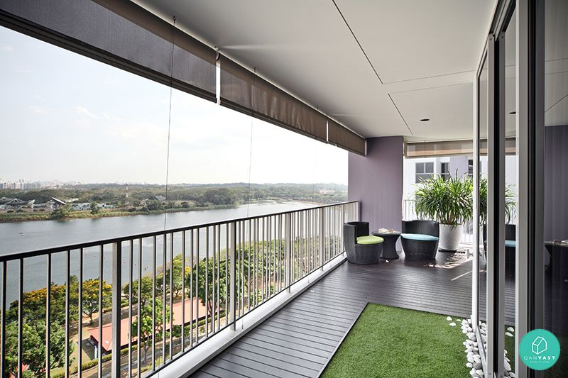 10 stunning yishun homes that depict heartland living for Balcony ideas singapore