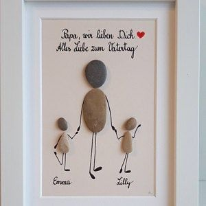 Photo of Sportsman, sportswoman, gift, handball, Father's Day gift, stone picture