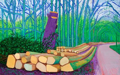 David Hockney   See more ideas about David hockney and Landscaping