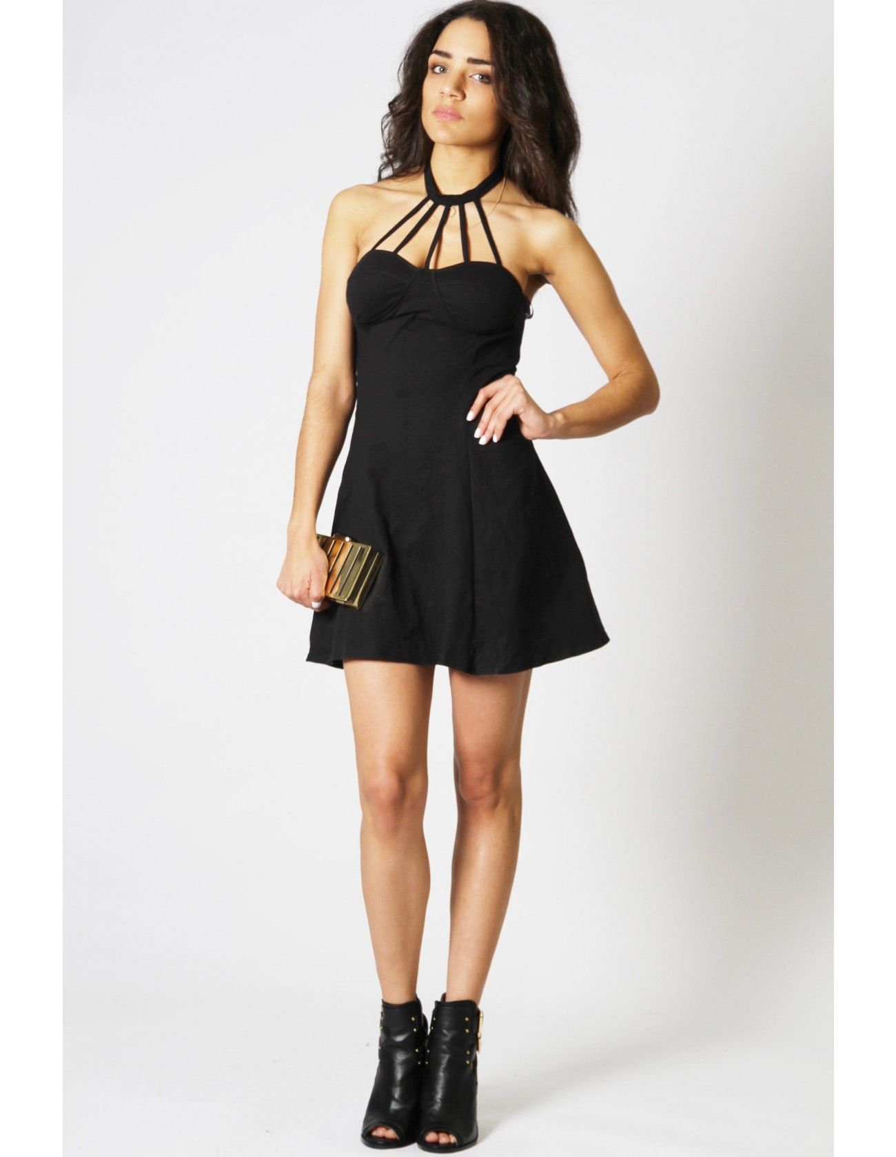 After Party Style - Add a girly twist to your grunge wardrobe! Black ...