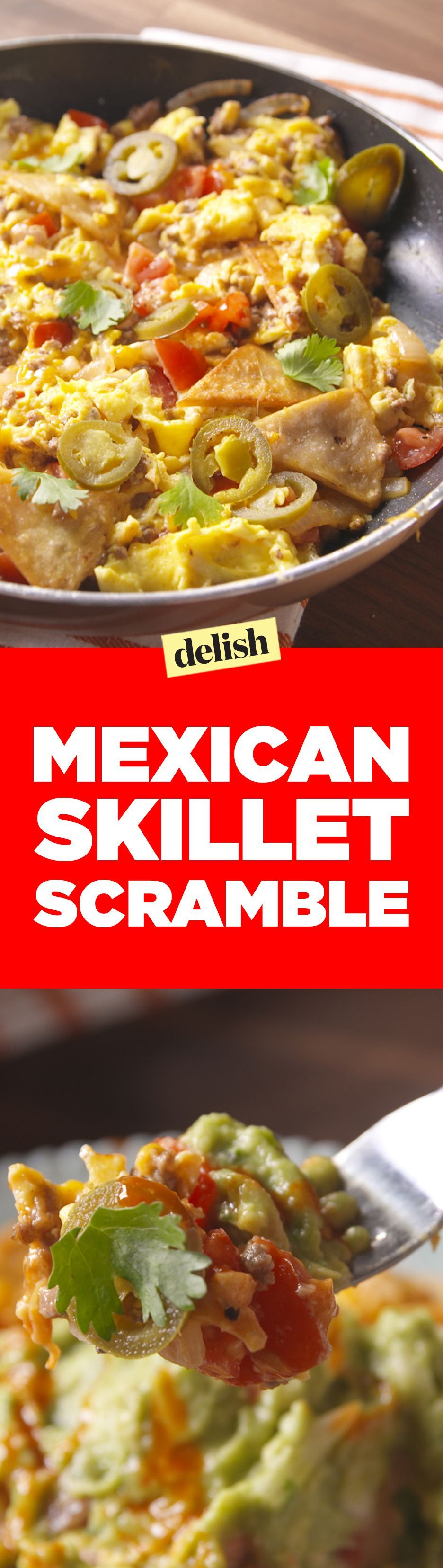 Skillet Scramble This Mexican Skillet Scramble is so much better than making breakfast burritos. Get the recipe on .This Mexican Skillet Scramble is so much better than making breakfast burritos. Get the recipe on .