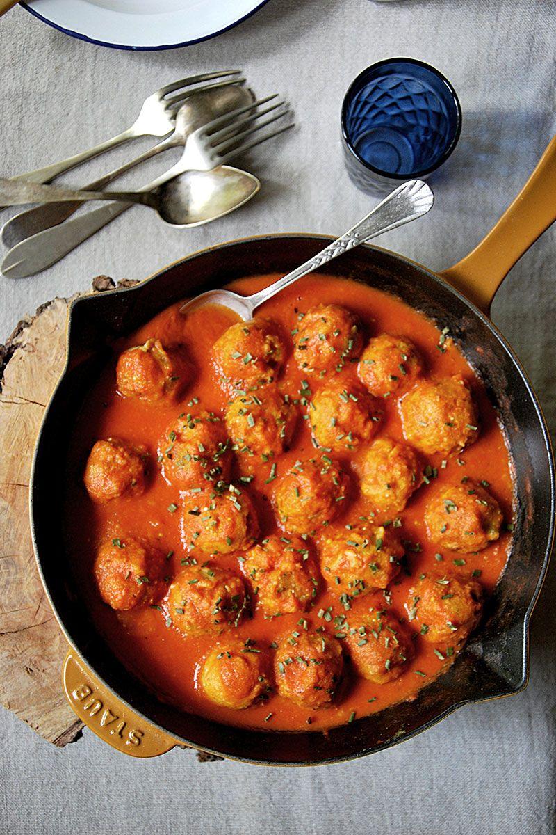 Albóndigas de garbanzos y quinoa. {Receta vegana, sin gluten, sin huevo, sin lactosa}