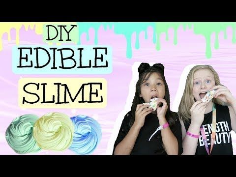 DIY EDIBLE SLIME! | Ft. Txunamy! - YouTube #edibleslime DIY EDIBLE SLIME! | Ft. Txunamy! - YouTube #edibleslime