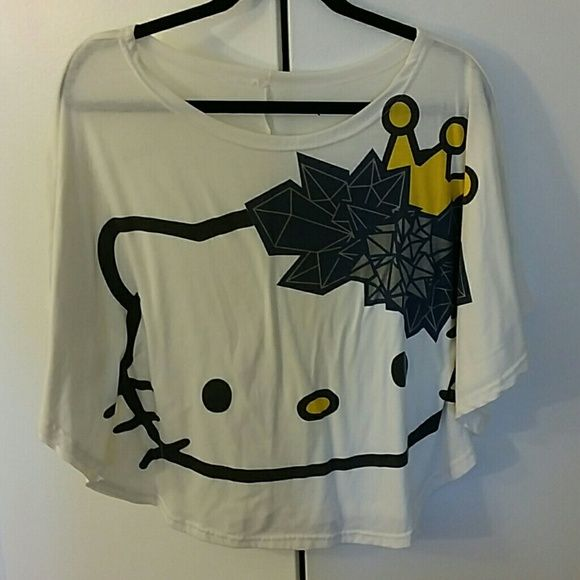 Hello Kitty Tshirt worn once only! super cute! womens size S Coach Tops