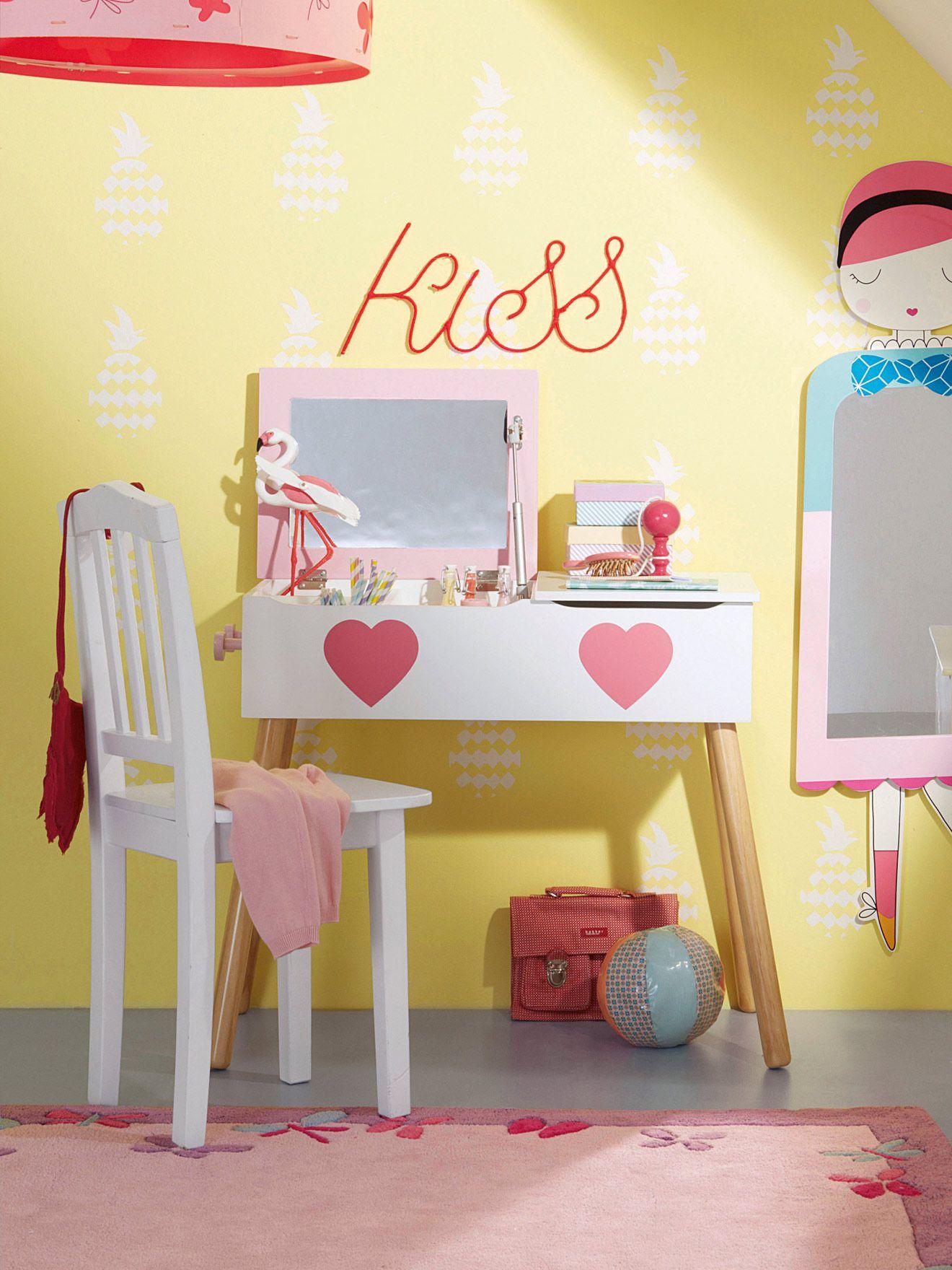 Tocador con colgadores para niña tema Damiselas, Habitación bebé ...