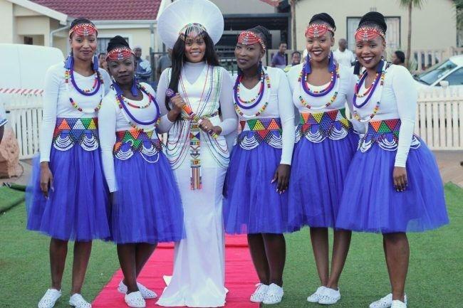 Zulu Traditional Wedding Dresses 2018