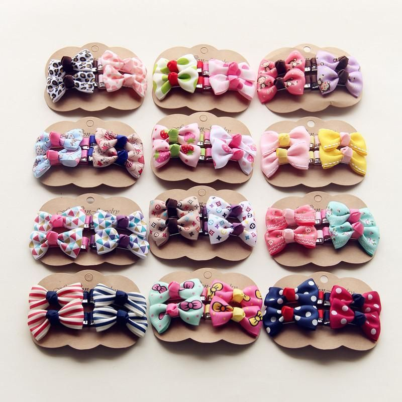 Hairpins Baby Girls Hair Bow Clips Women/'s Hair Accessories Children Hairgrips