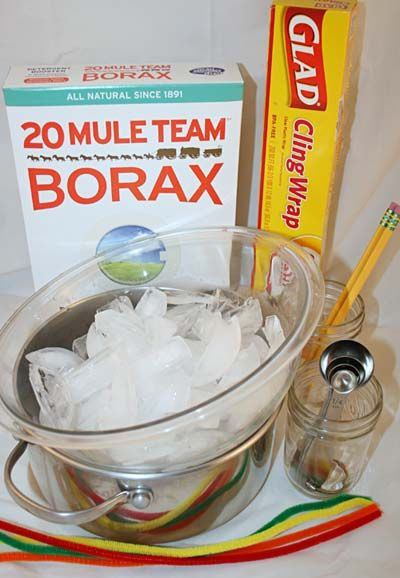 materials needed to grow borax crystals for a science activity ideas for the kids pinterest. Black Bedroom Furniture Sets. Home Design Ideas