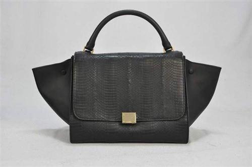 celine shoulder bag black