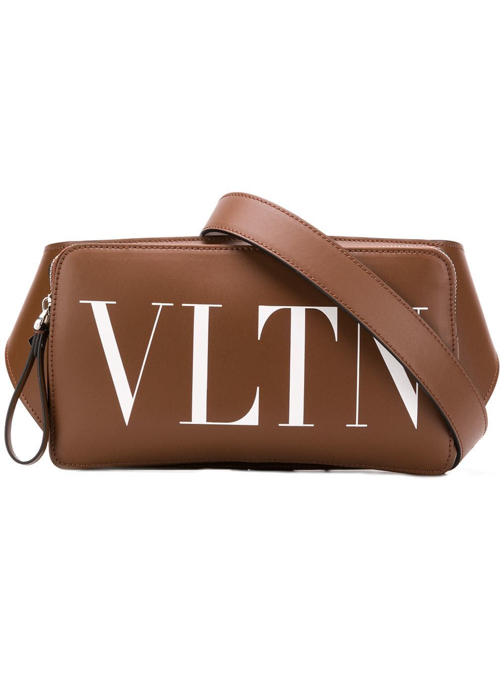 60acc6c25 VALENTINO VALENTINO VALENTINO GARAVANI VLTN BELT BAG - BROWN. #valentino  #bags #leather #belt bags