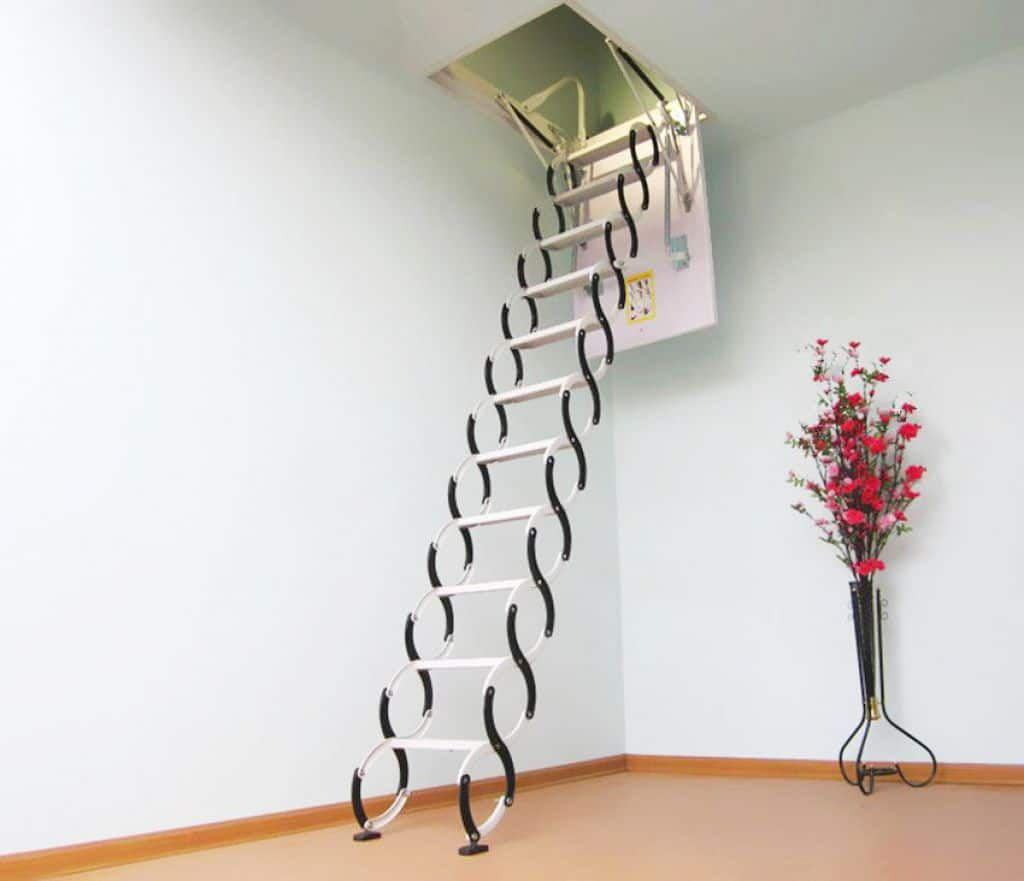 Metal Pull Down Loft Stair