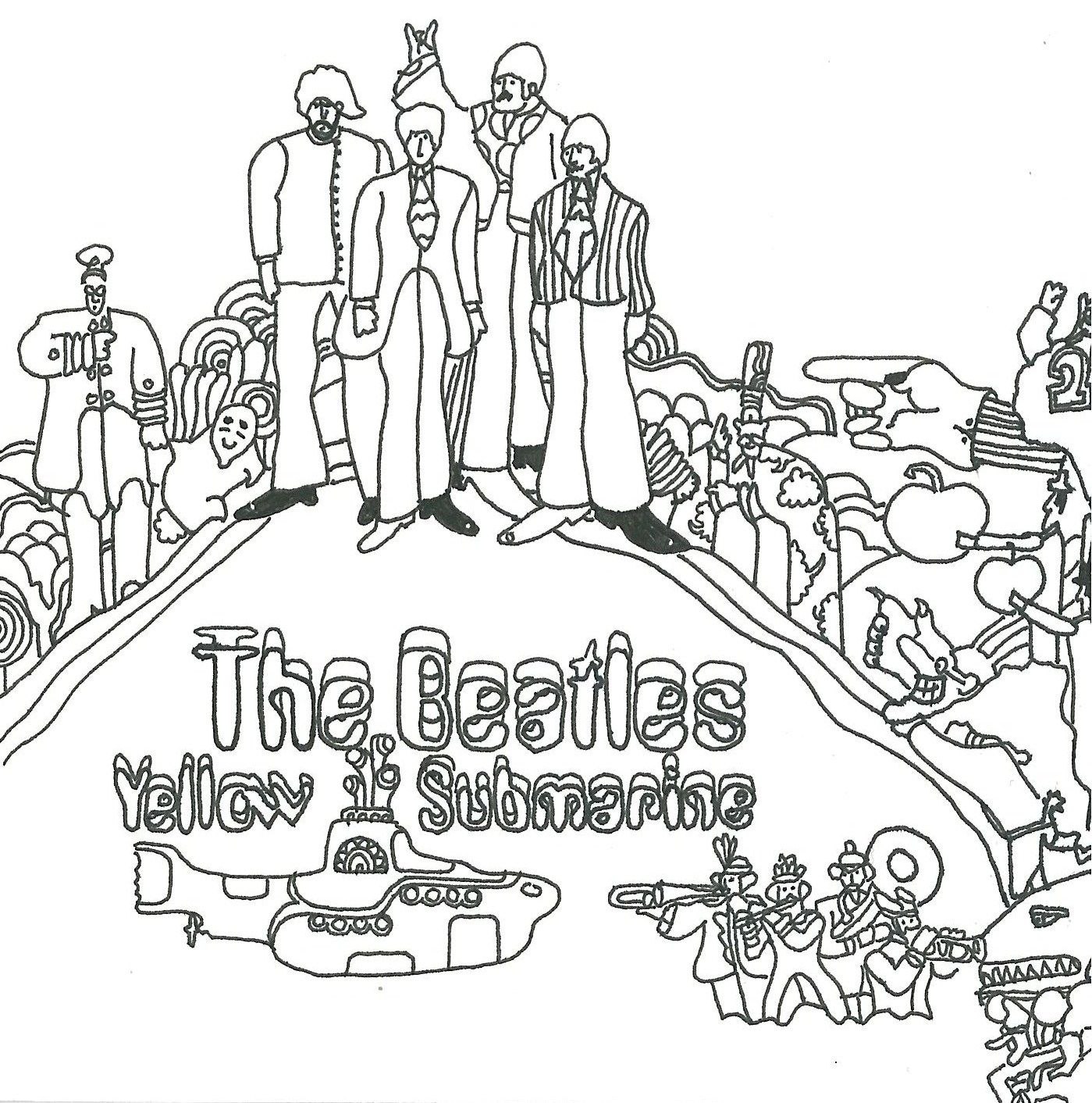 beatles coloring book pages the beatles coloring pages google search coloring