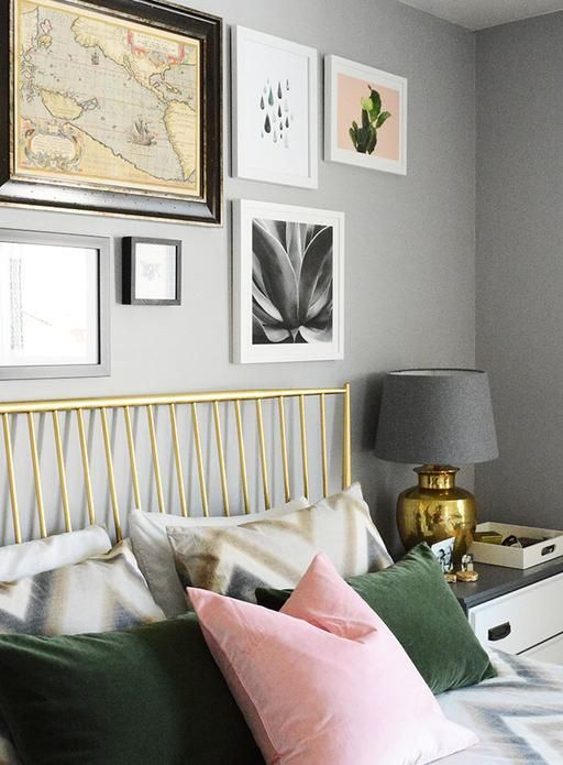 Green Pink Done Right Goldbedding Green Bedroom Design