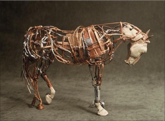 Aggie Zed For Me To Do Similar In Maybe Paper Mache Wire And Cloth Horse Sculpture Sculpture Painting Sculpture Art