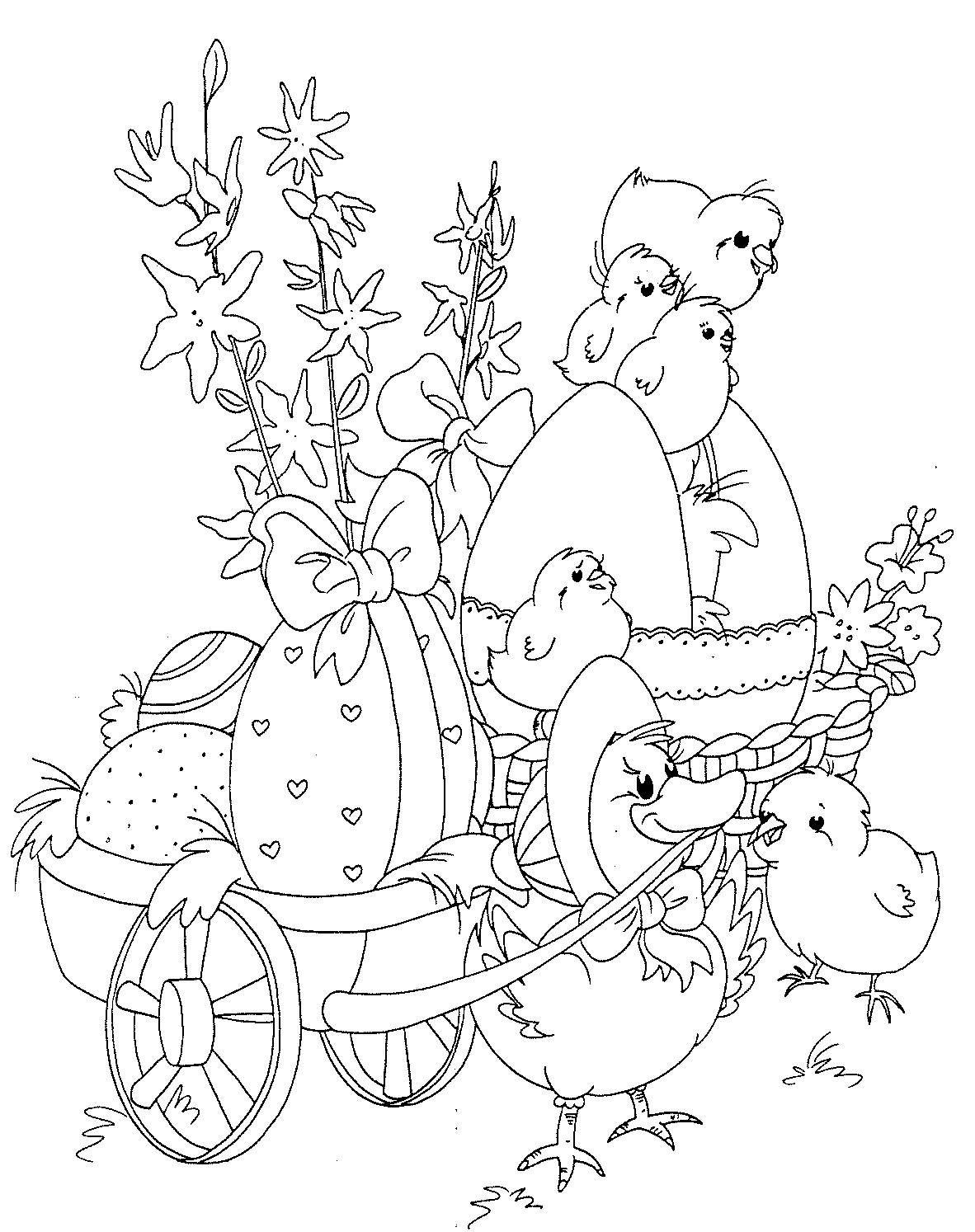 Kinszi Böngészde: Húsvéti kifestő  Easter coloring book, Easter