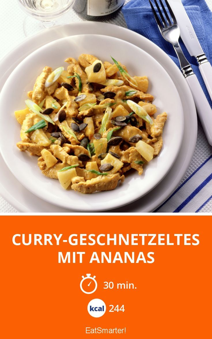 curry geschnetzeltes mit ananas rezept di t rezepte zum abnehmen pinterest curry curry. Black Bedroom Furniture Sets. Home Design Ideas