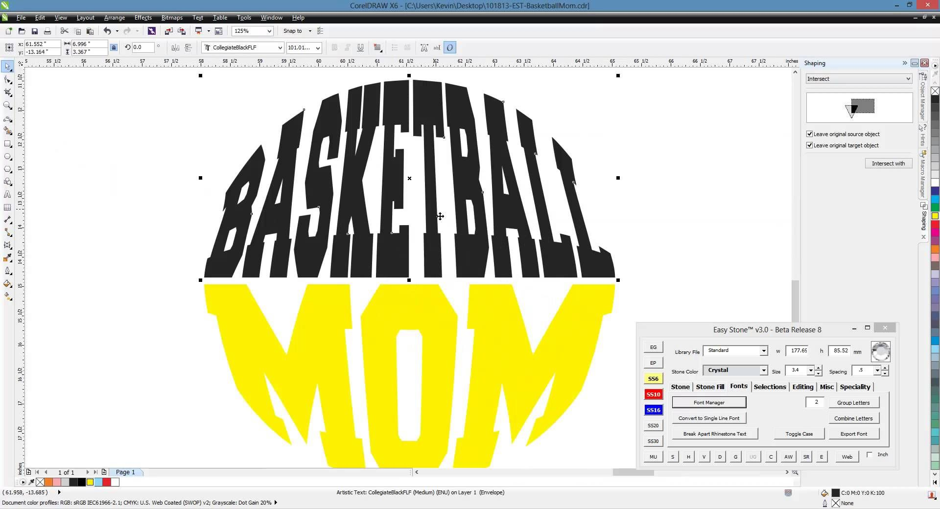 CorelDRAW Project Video - Envelope Text | Silhouette