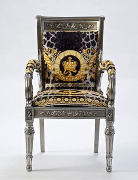 Versace Home Chair Collection Versacehomemiami Www Abitareusa Com Versace Furniture Versace Chair Versace Home