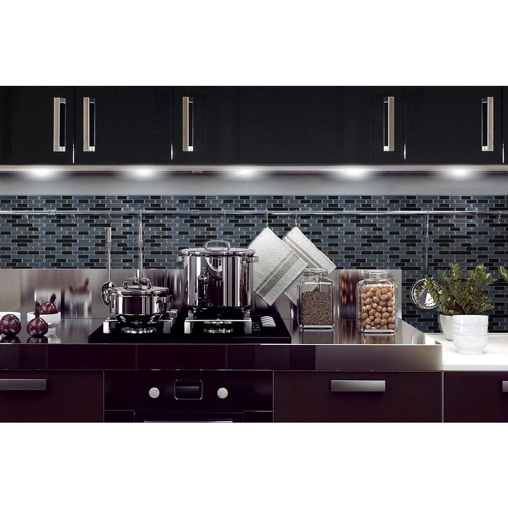 - Smart Tiles 9.13 In. X 10.25 In. Muretto Mosaic Decorative Wall
