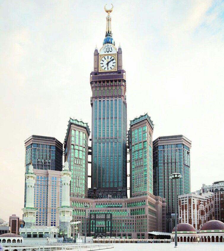 Abraj Al Bait Makkah Royal Clock Tower Hotel 601 M 1 972 Pies Tambien Llamada Meca Royal Clock Tower Hotel El Abraj Al Bait E Makkah Tower Makkah Mecca