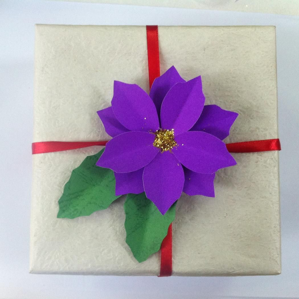 How To Make Paper Flower Diy Mother S Day Gift Topper Paper