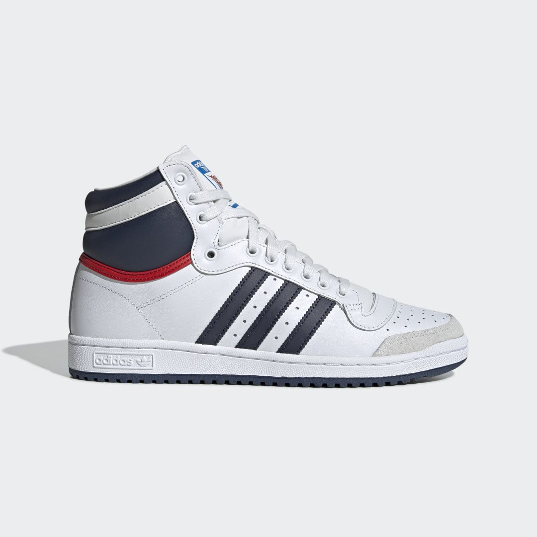 High top sneakers 'Top Ten Hi' white
