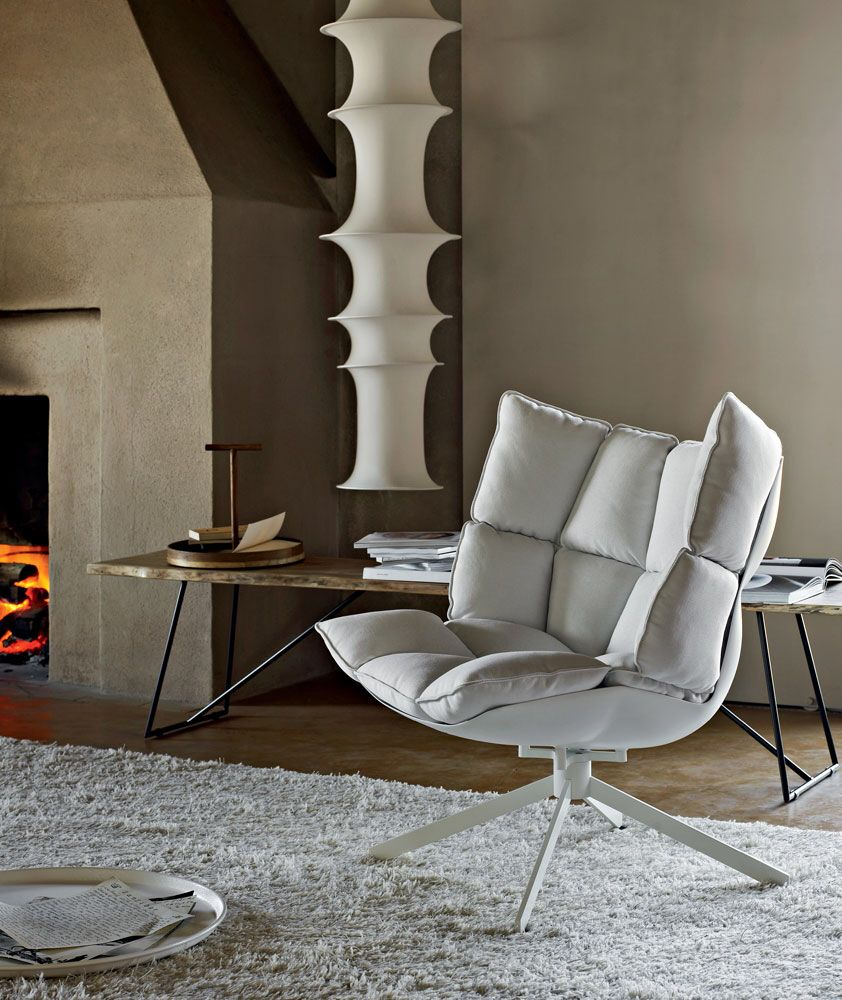 husk (b&b italia) by patricia urquiola. | low chair | pinterest ... - Bunte Stuhle Sessel 25 Raumideen