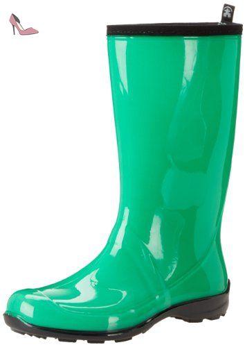 Caoutchouc imperméables Bottes de pluie Wellies Taille Kamik Heidi Femmes 6  - Chaussures kamik (*