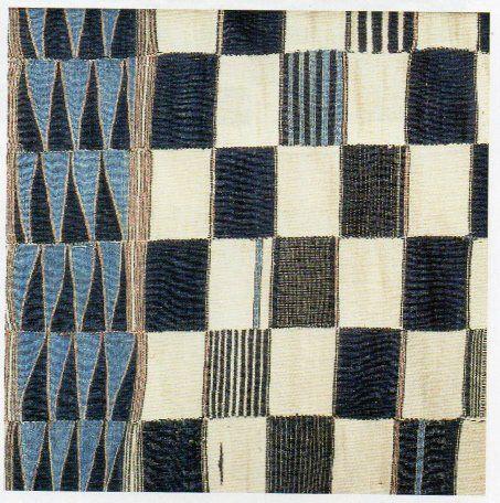 """Detail: Display cloth/hanging, """"Malinke"""" peoples, Liberia. #21540, Museum fur Volkerkunde Dresden. Bought in Copenhagen in 1880. 325cm x 128."""