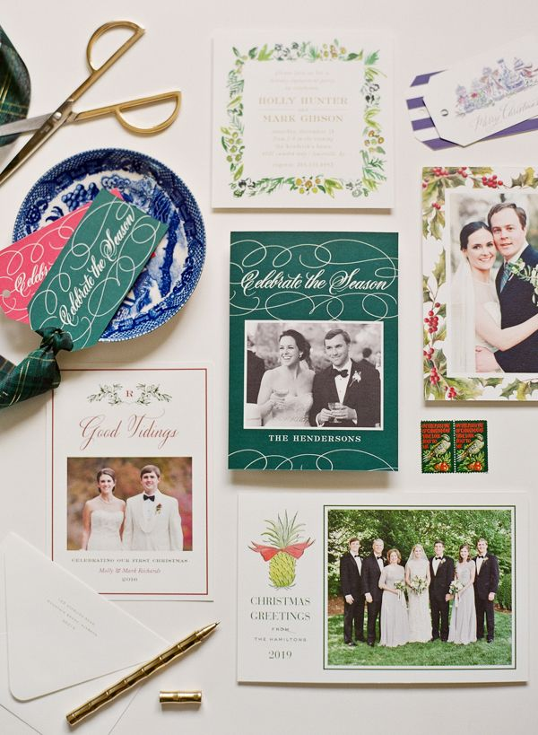 How to Send Out Your First Married Christmas Card | Southern ...