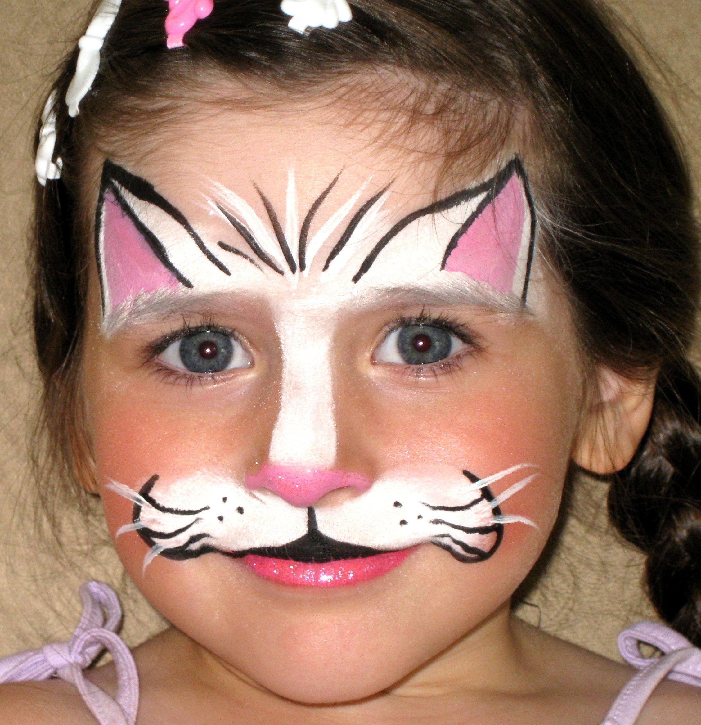 Einfache Malvorlagen Kinderschminken Coloring And Malvorlagan
