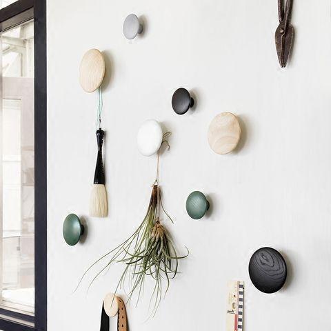 Wall mushroom robe hooks home decoration wall hanger with nail ...