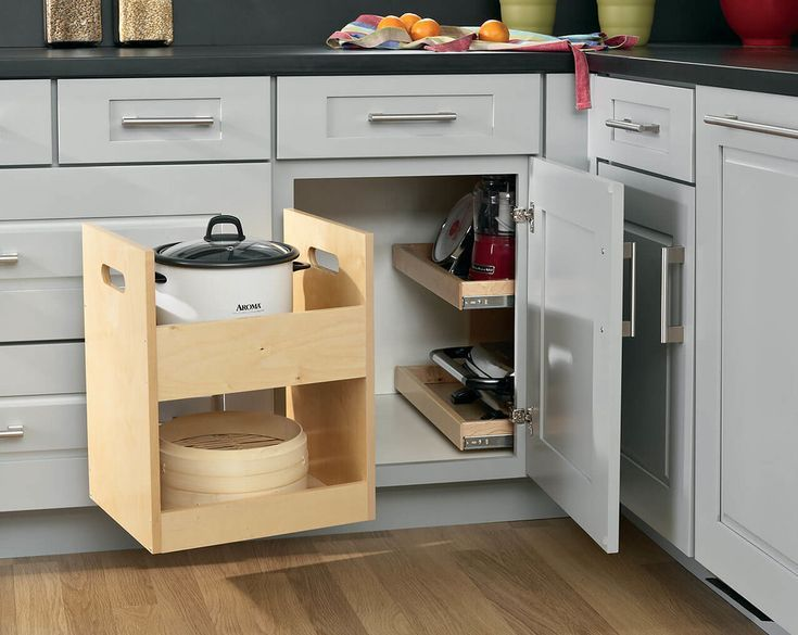 64 Best Corner Kitchen Cabinet Ideas to Squeeze More ...